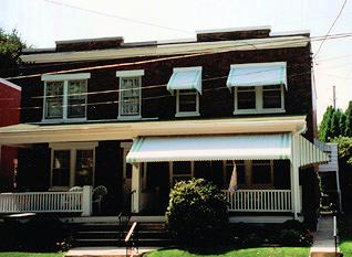 Aluminum Window and Porch Awnings